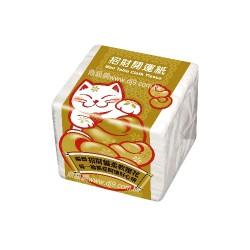 舒潔專利鎖水餐巾紙(招財貓)